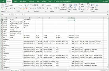 17hats export convert iff to csv tab excel