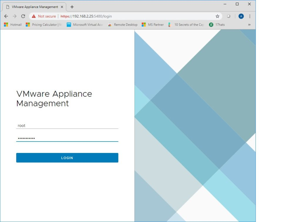 22. How to access the VCSA appliance to perform management functions? Use the URL https://vCenter_IP:5480