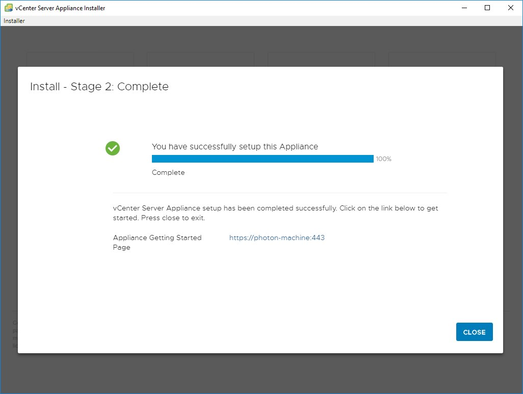 How to install vCenter 6 7 (and 6 0 and 6 5) with no DNS, only IP