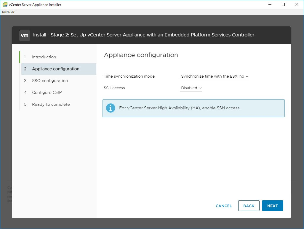 How to install vCenter 6 7 (and 6 0 and 6 5) with no DNS